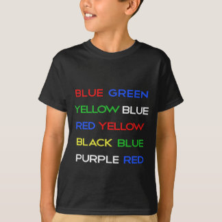 Color Brain Teaser T-Shirt