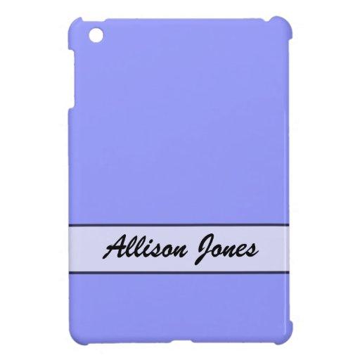Color brillante personalizado del azul del bígaro iPad mini carcasas