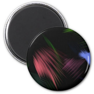color brushed 2 inch round magnet