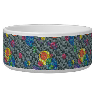 Color Bubble Pet Bowl