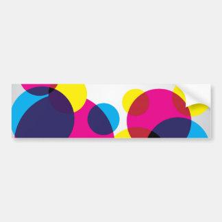 Color Bubbles Bumper Sticker