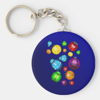 Color Bugs  Keychain