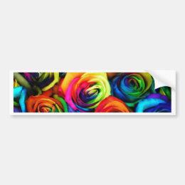 Color Bumper Sticker