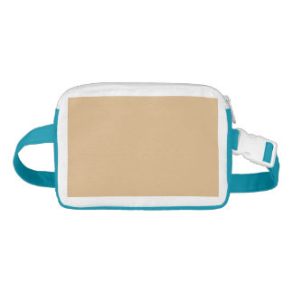 color burlywood fanny pack