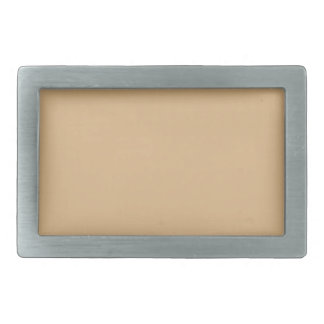 color burlywood rectangular belt buckle