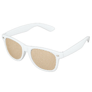 color burlywood retro sunglasses