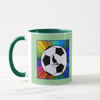 color burst ball & horse mug