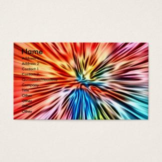 Color Burst Business Card