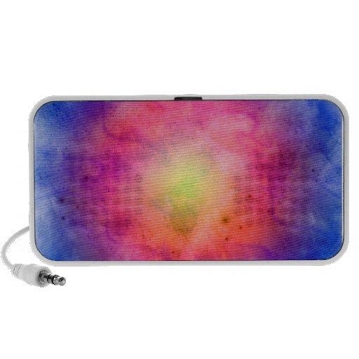 Color Burst Doodle Speaker