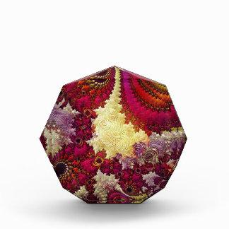 Color Burst Fractal Art Decor Acrylic Award
