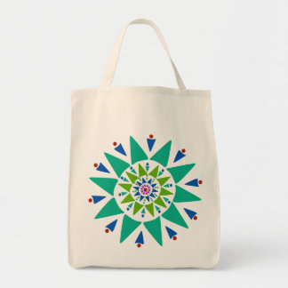 Color burst Grocery Tote