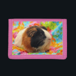 """Color Burst Guinea Pig Wallet<br><div class=""""desc"""">Here is the perfect gift for the little guinea pig lover in your life! Each purchase directly benefits the Knoxville Guinea Pig Rescue. Thank you for your support!</div>"""