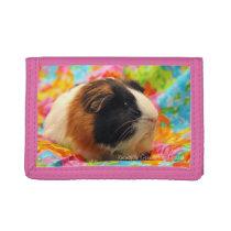 Color Burst Guinea Pig Wallet