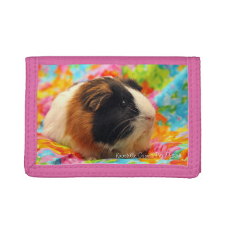 Color Burst Guinea Pig Wallet