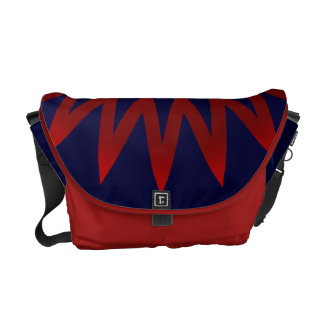 Color Burst Messenger Bag