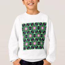 Color Burst Pattern Sweatshirt