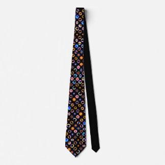 color bursts neck tie