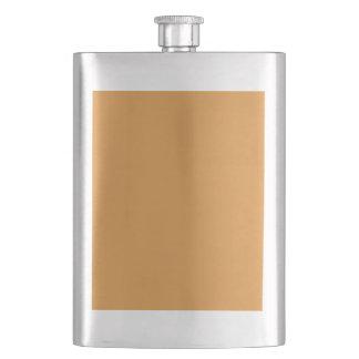 color butterscotch flask
