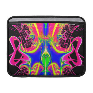 Color Cacophony  Fractal MacBook Air Sleeve