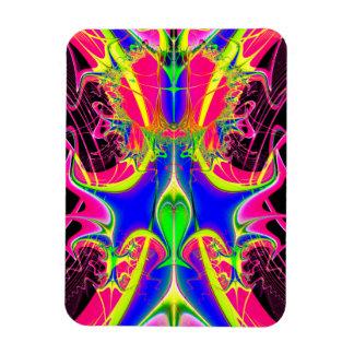 Color Cacophony  Fractal Magnet