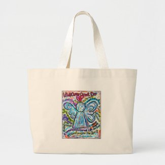 Color Cancer Angel Bag