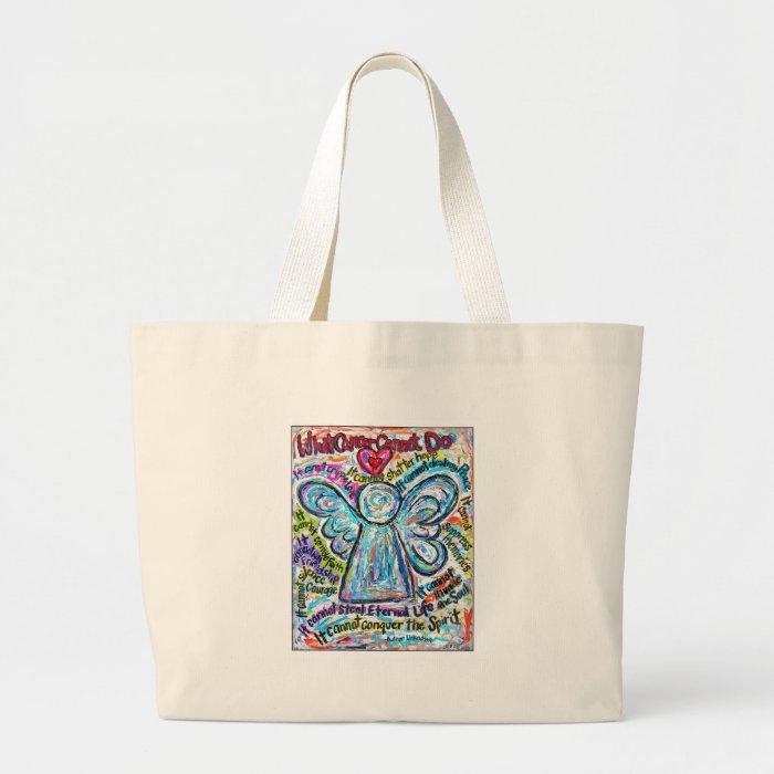 Color Cancer Angel Bag