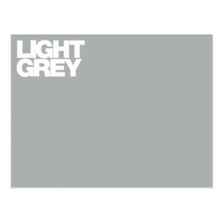 Color Card light grey