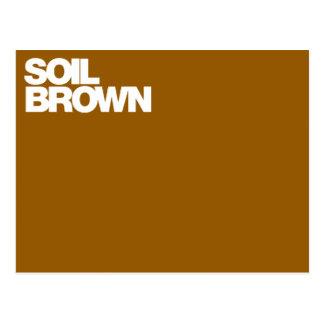 Color Card soil brown