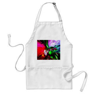 Color Carnival Abstract Apron