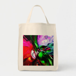 Color Carnival Abstract Canvas Bags