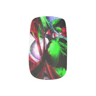 Color Carnival Abstract Minx ® Nail Art
