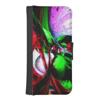 Color Carnival Abstract Phone Wallets