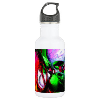 Color Carnival Abstract Stainless Steel Water Bottle