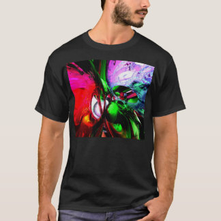 Color Carnival Abstract T-Shirt