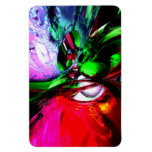 Color Carnival Abstract Vinyl Magnets