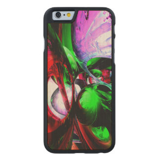 Color Carnival Abstract Carved® Maple iPhone 6 Slim Case