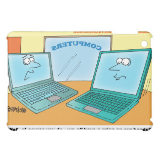 COLOR CARTOON | Talking Laptops  iPad Mini Cover