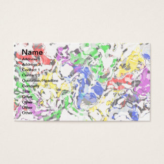 COLOR CATASTROPHE BUSINESS CARD
