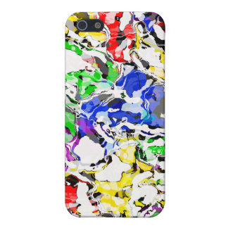 COLOR CATASTROPHE COVER FOR iPhone SE/5/5s