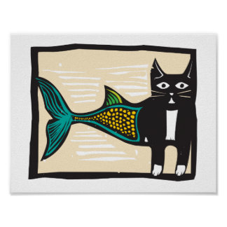 Color Catfish Poster