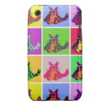 Color Cats Case-Mate iPhone 3 Carcasas