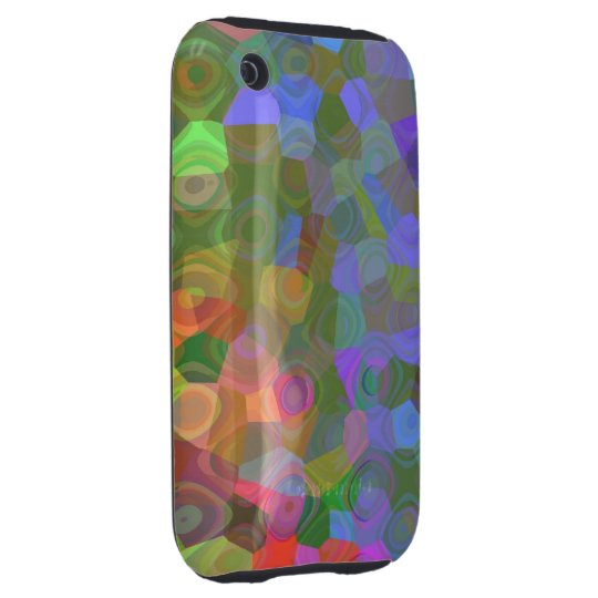 Color Celebration iPhone 3 Tough Cover