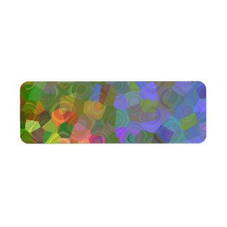 Color Celebration Label