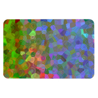 Color Celebration Rectangular Photo Magnet