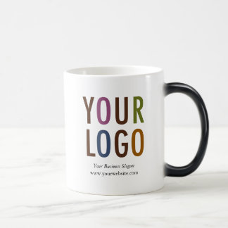 Color Changing Morphing Mug with Your Company Logo