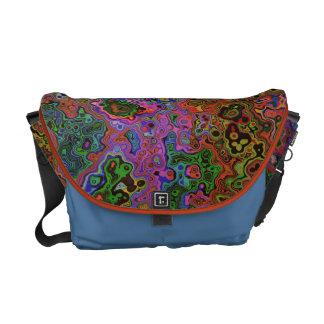 COLOR CHAOS Messenger Bag