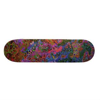 COLOR CHAOS Skateboard