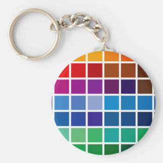 color chart texture pattern background code palett keychain