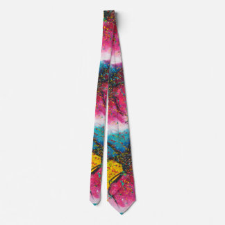 Color Chasmic 2, artistic, watercolor, painting Neck Tie
