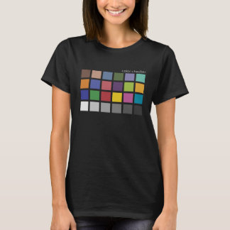 Color Checker For Photographers T-Shirt